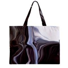 Metallic and Chrome Mini Tote Bag