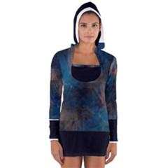 bluetech Women s Long Sleeve Hooded T-shirt