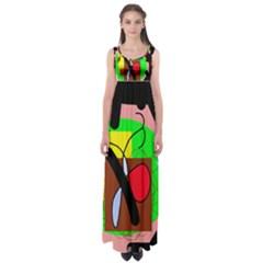 Fantasy  Empire Waist Maxi Dress