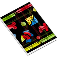 Playful day Large Memo Pads