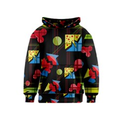 Playful day Kids  Pullover Hoodie