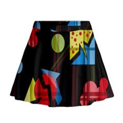 Playful day Mini Flare Skirt