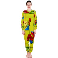 Playful day - yellow  OnePiece Jumpsuit (Ladies)