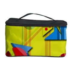 Playful day - yellow  Cosmetic Storage Case