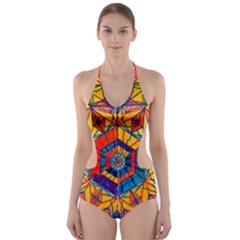 Excitement   Cut Out One Piece Swimsuit