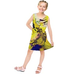 Dance Dragon A Fairy Tale Painting Kids  Tunic Dress