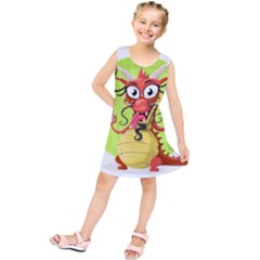 Dragon Chinese Chinese Dragon Food Kids  Tunic Dress