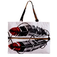 Order Of The Arrow Zipper Mini Tote Bag