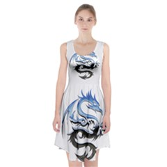Dragon Mythology Fantasy Monster Racerback Midi Dress