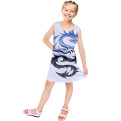 Dragon Mythology Fantasy Monster Kids  Tunic Dress