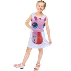 Dragon Toy Pink Plaything Creature Kids  Tunic Dress