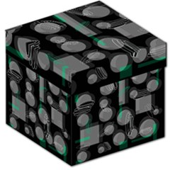 Come down - green Storage Stool 12