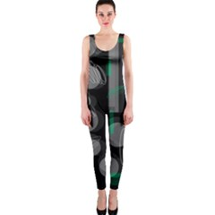 Come down - green OnePiece Catsuit