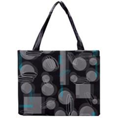 Come down - blue Mini Tote Bag