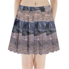 Blue Merle Catahoula Full Pleated Mini Skirt