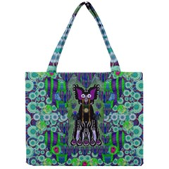 Lady Draccula With Flower Ghost And Love Mini Tote Bag