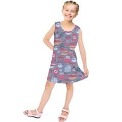 Jam Pattern Kids  Tunic Dress