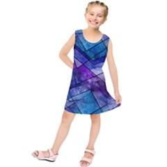 Night Shards Kids  Tunic Dress