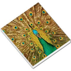 Bird Peacock Feathers Small Memo Pads