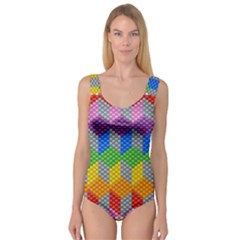 Block Pattern Kandi Pattern Princess Tank Leotard