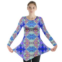 Blue Crystal Annabellerockz 4 Long Sleeve Tunic