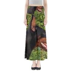 Doberman Pinscher Maxi Skirts