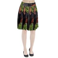 Doberman Pinscher Pleated Skirt