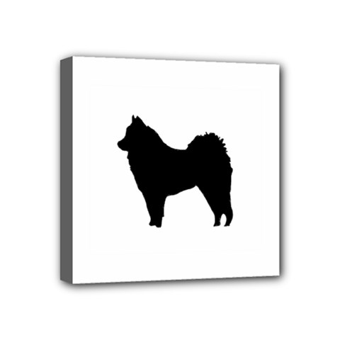 Eurasier Silo Black Mini Canvas 4  x 4