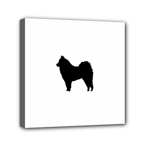 Eurasier Silo Black Mini Canvas 6  x 6