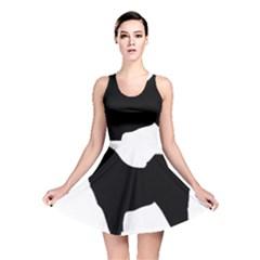 Eurasier Silo Black Reversible Skater Dress