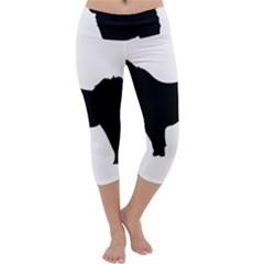 Eurasier Silo Black Capri Yoga Leggings