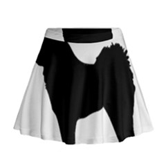 Eurasier Silo Black Mini Flare Skirt