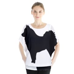 Eurasier Silo Black Blouse