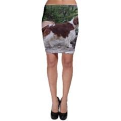 Welsh Springer Spaniel Full Bodycon Skirt