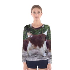 Welsh Springer Spaniel Full Women s Long Sleeve Tee