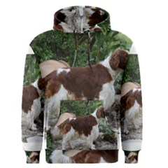 Welsh Springer Spaniel Full Men s Pullover Hoodie