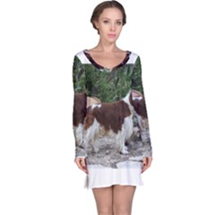 Welsh Springer Spaniel Full Long Sleeve Nightdress