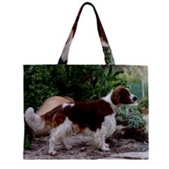 Welsh Springer Spaniel Full Zipper Mini Tote Bag