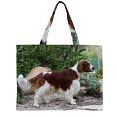 Welsh Springer Spaniel Full Large Tote Bag