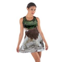 Welsh Springer Spaniel Full Cotton Racerback Dress