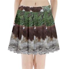 Welsh Springer Spaniel Full Pleated Mini Skirt