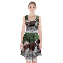 Welsh Springer Spaniel Full Racerback Midi Dress
