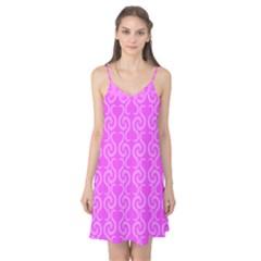 Pink elegant pattern Camis Nightgown