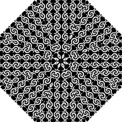 Black and white pattern Hook Handle Umbrellas (Small)
