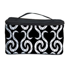 Black and white pattern Cosmetic Storage Case