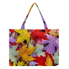 Coloorfull Leave Medium Tote Bag