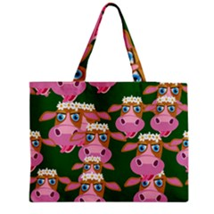 Cow Pattern Medium Tote Bag
