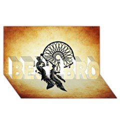 Dream Catcher Best Bro 3d Greeting Card (8x4)