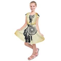 Dream Catcher Kids  Short Sleeve Dress