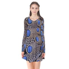 Feathers Peacock Light Flare Dress